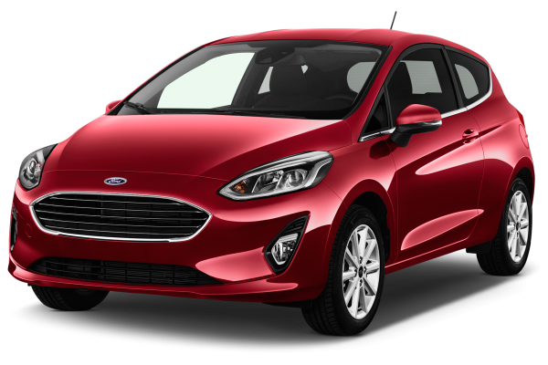 Ford Fiesta rouge